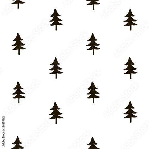 drzewny-bezszwowy-wzor-boze-narodzenie-papier-pakowy-tlo-wakacje-recznie-rysowane-geometryczne-powtarzac-ozdobny-elementy-sylwetka