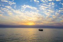 Beautiful Sea Of Galilee In Th...