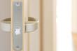 新築住宅のドア ラッチ