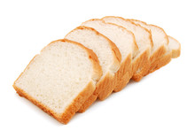 Sliced Bread On A White Backgr...