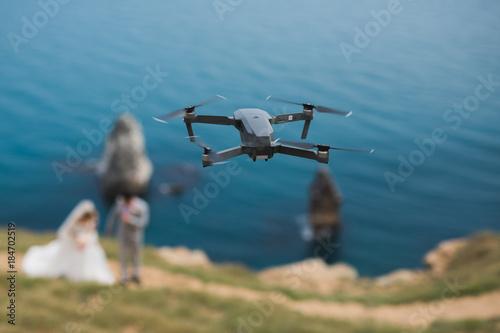 Obraz na plátně  Drone Wedding