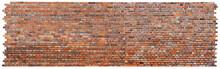Strukturierte Backsteinmauer -...