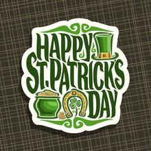 Vector Logo For Saint Patricks...