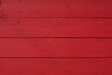 Red Wooden Background.