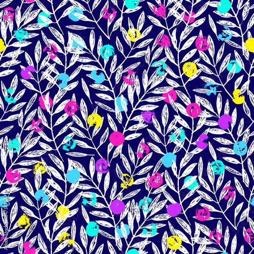 Obrazy wieloczęściowe Liście palmowe tropikalne, wzór liści