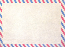 Empty Airmail Blank Or Letter,...