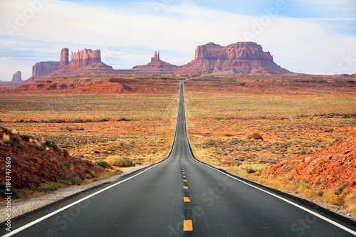Cuadros en Lienzo Monument Valley Road