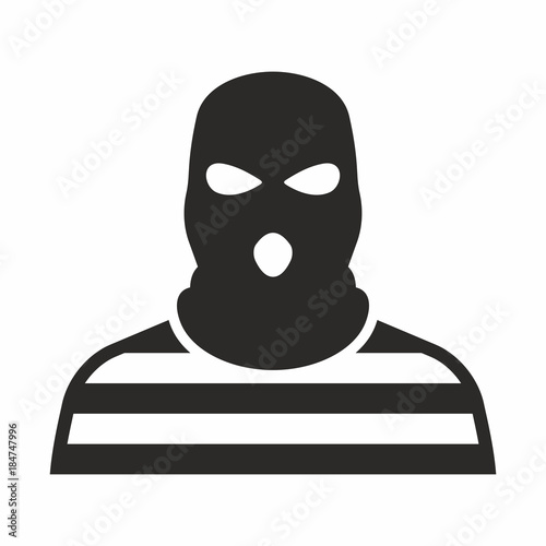 Tablou Canvas Bandit icon