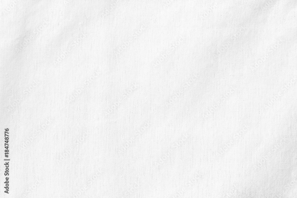 Fototapety, obrazy: White canvas Texture or Background