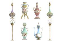 Set Of Biblots Fance Vases Iso...