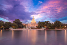 Capitol Building Sunset Congre...