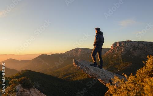 Photo Atardecer en Sierra Espuña