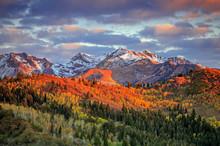 Fall Sunrise In The Wasatch Ba...