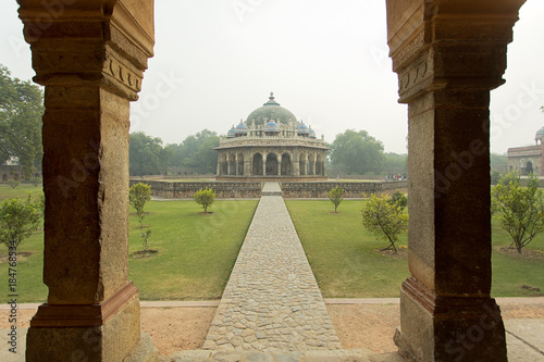 Printed kitchen splashbacks Delhi Humayun Tomb Garden Delhi India