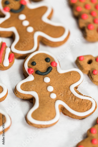 Gingerbread Cookies Buy This Stock Photo And Explore Similar