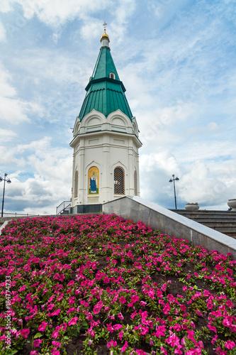 Fototapeta Paraskeva Pyatnitsa Chapel in Krasnoyarsk. Russia obraz