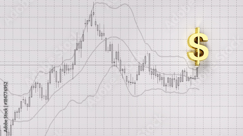 Chart Indicator Copy Space Symbol Gold Dollarinvestment Stock