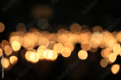 candlelight vigil background Canvas Print