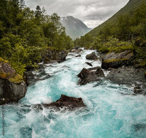 Printed kitchen splashbacks River Norway