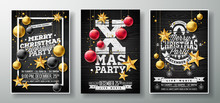 Vector Merry Christmas Party F...