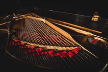 Inside Grand Piano