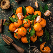 Fresh Clementines (tangerines)...