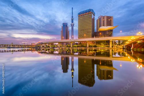 Foto auf AluDibond Tokio Sumida River, Tokyo, Japan