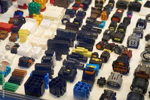 Fotografía  Automotive electrical connectors