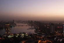 Cairo At The Evenning