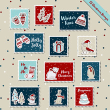A Set Of Christmas Stamps, Pos...