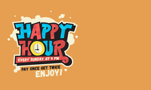 Happy Hour Design Funny Cool C...