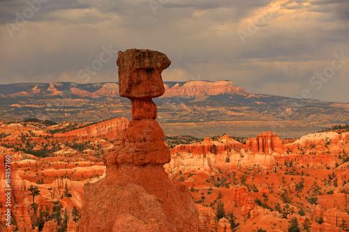 Foto op Canvas Baksteen Bryce Canyon Sunrise landscape, Utah, USA.