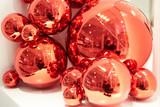 Fototapeta Do akwarium - Collection of Christmas baubles.