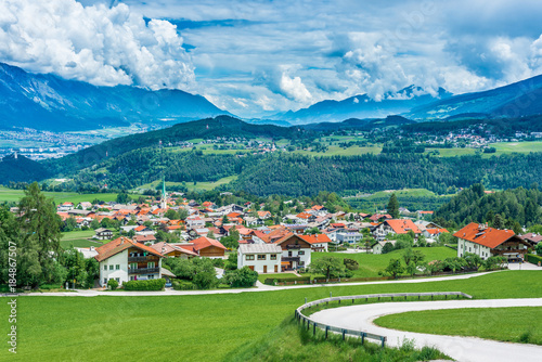 Spoed Foto op Canvas Zuid-Amerika land Mutters village near Innsbruck, Austria