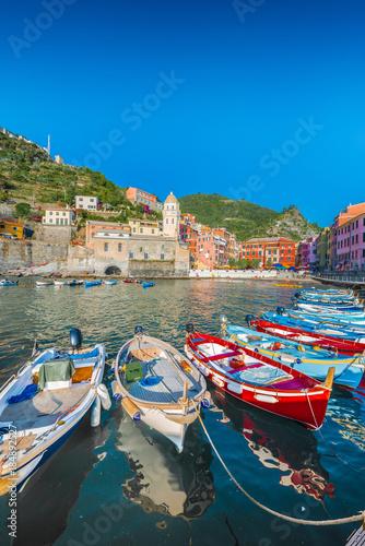 Foto op Aluminium Bergen Vernazza in Cinque Terre, Liguria, Italy.