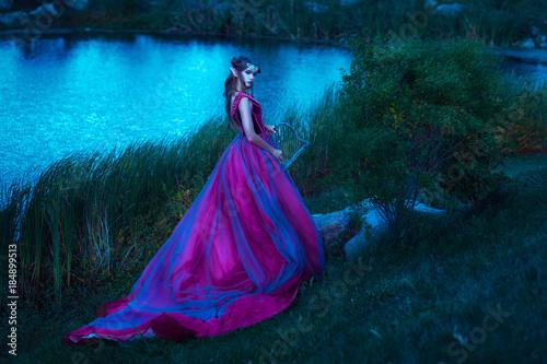 Photo  Beautiful young elf woman