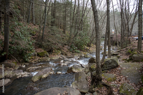 Photo Leigh Gorge State Park Nature Photos Winter