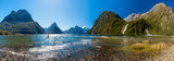 Panorama of Milford Sound, Fiordland National Park, New Zealand