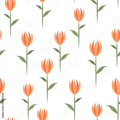bezszwowy-tlo-z-tulipanami