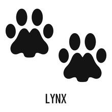 Lynx Step Icon. Simple Illustr...