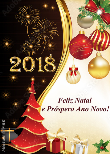 we wish you a merry christmas and a happy new year written in spanish