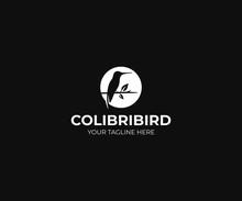 Hummingbird Logo Template. Col...