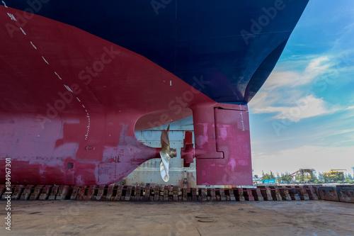 Photo Vessel on dock stern part 2