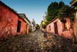 Leinwanddruck Bild - Colonia del Sacramento Uruguay
