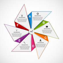 Abstract Options Infographics ...