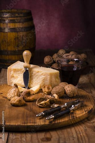 Valokuvatapetti formaggio italiano