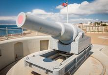 Cannon On Gibraltar Europa Poi...