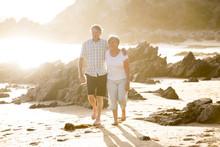 Lovely Senior Mature Couple On...