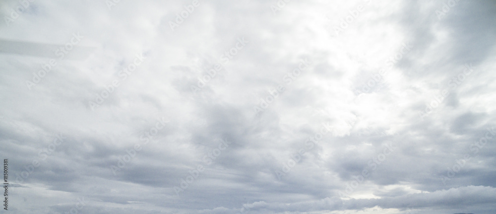 Fototapety, obrazy: Aerial view over the dramatic clouds