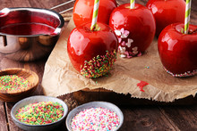 Sugar Apple With Red Icing. Sw...
